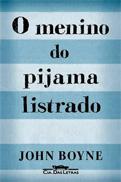 """Capa do Livro """"O Menino do pijama Listrado"""""""