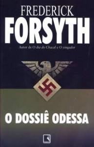 """Capa do livro """"O Dossiê Odessa"""""""