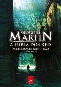 """Capa do Livro """"A Fúria dos Reis"""" de George RR Martin"""