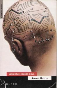"""Capa do livro """"Admirável Mundo Novo"""" de Aldous Huxley"""