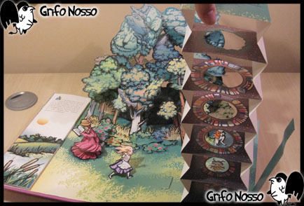 """""""Alice's Adventures in Wonderland"""" pop-up"""