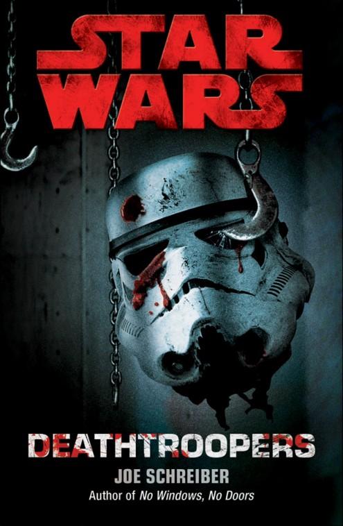 "Capa do Livro ""Star Wars - DeathTroopers"""