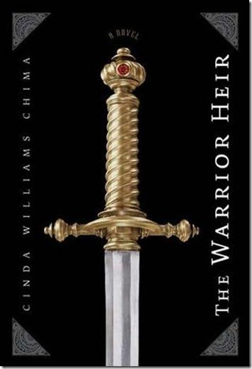 """Capa do livro """"O Herdeiro Guerreiro"""" de Cinda Williams Chima"""