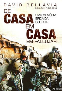 """Capa do Livro """"De casa em casa em Fallujah"""""""