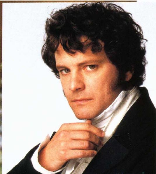 """Imagem de Colin Firth como Sr. Darcy no filme """"Orgulho e Preconceito"""""""