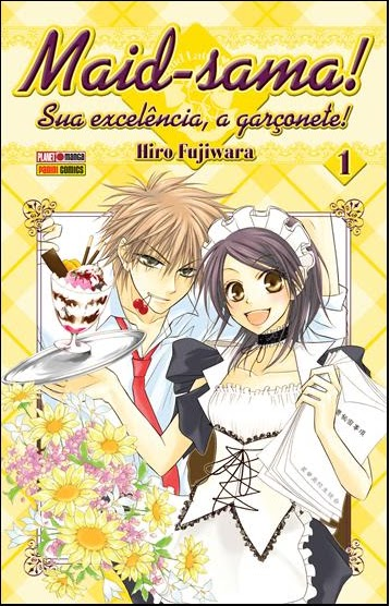 "Capa da revista #01 do ""Maid-Sama"""