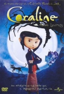 "Capa do DVD ""Coraline e o Mundo Secreto"""