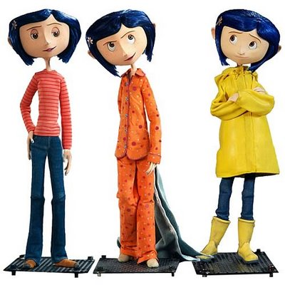 Coraline Bendy Fashion Doll Assortment Set