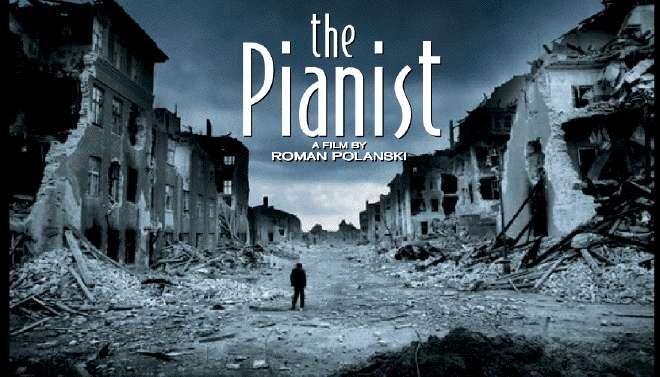 """Poster do filme """"O Pianista"""" de Roman Polansky"""