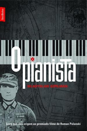 """Capa do Livro """"O Pianista"""" de Wladislaw Szpilman"""