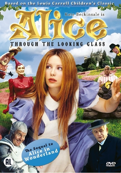 """Capa do Filme """"Alice através do espelho"""" do Channel 4 (1998)"""