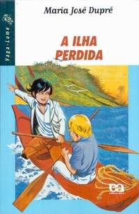 "Capa do livro ""A ilha perdida"""