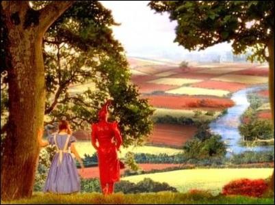 """Print do filme """"Alice através do espelho (1998)"""""""