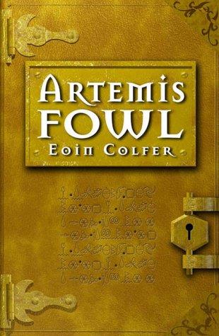 """Capa do Livro """"Artemis Fowl - O menino prodígio do crime de Eoin Colfer"""