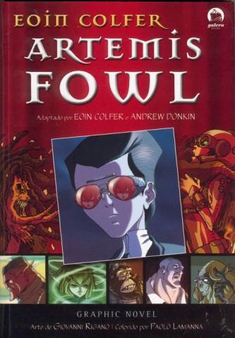Capa da Graphic Novel de Artemis Fowl