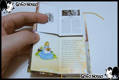 """Interior de """"Alice no País das Maravilhas"""" e """"Don Quixote"""""""