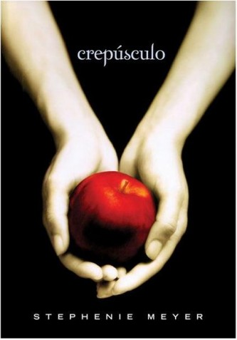 """Capa do Livro """"Crepúsculo"""" de Stephenie Meyer"""