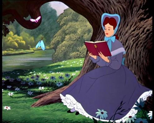 "Print do Desenho ""Alice in Wonderland"" da Disney"