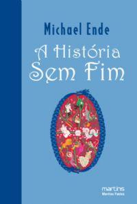 """Capa do Livro """"A História sem Fim"""" de Michael Ende"""