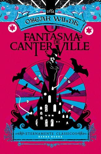 """Capa do Livro """" O Fantasma de Canterville"""" de Oscar Wilde"""