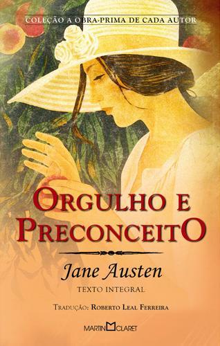 Capa do Livro Orgulho e Preconceito de Jane Austen
