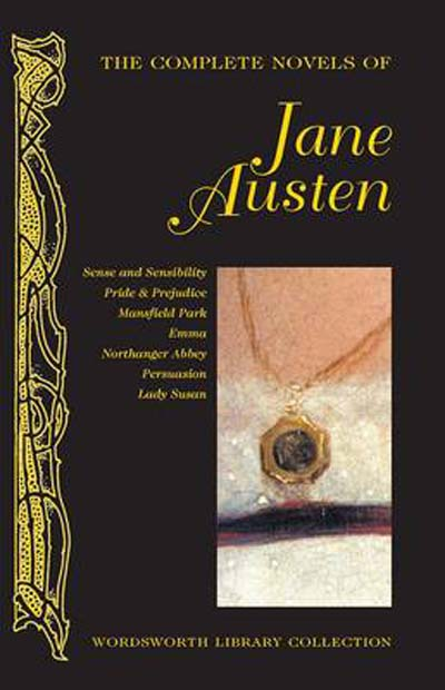 "Capa do livro ""The Complete Nivels od Jane Austen"""