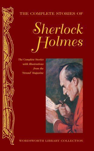 "Capa do Livro ""The Complete Stories of Sherlock Holmes"""