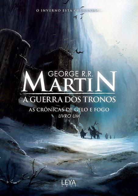 """Capa do Livro """"A Guerra dos Tronos"""" de George R.R. Martin"""