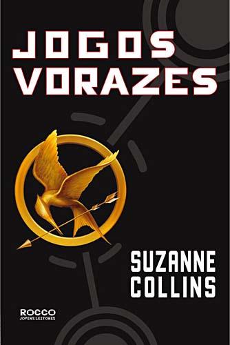 """Capa do Livro """"Jogos Vorazes"""" de Suzanne Collins"""
