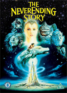 "Capa do Filme ""The Neverending Story"""