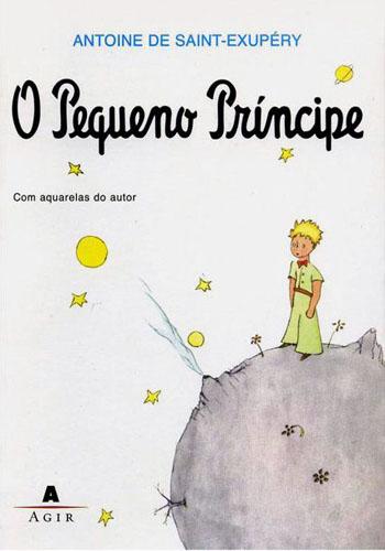"Capa de ""O Pequeno Príncipe"" de Antoine de Saint-Exupéry"