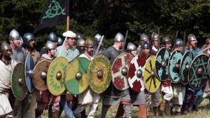 Você achou que não ia ter nenhuma parede de escudos?